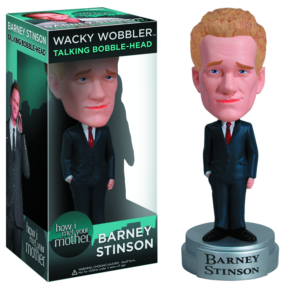 HOW I MET YOUR MOTHER BARNEY TALKING WOBBLER