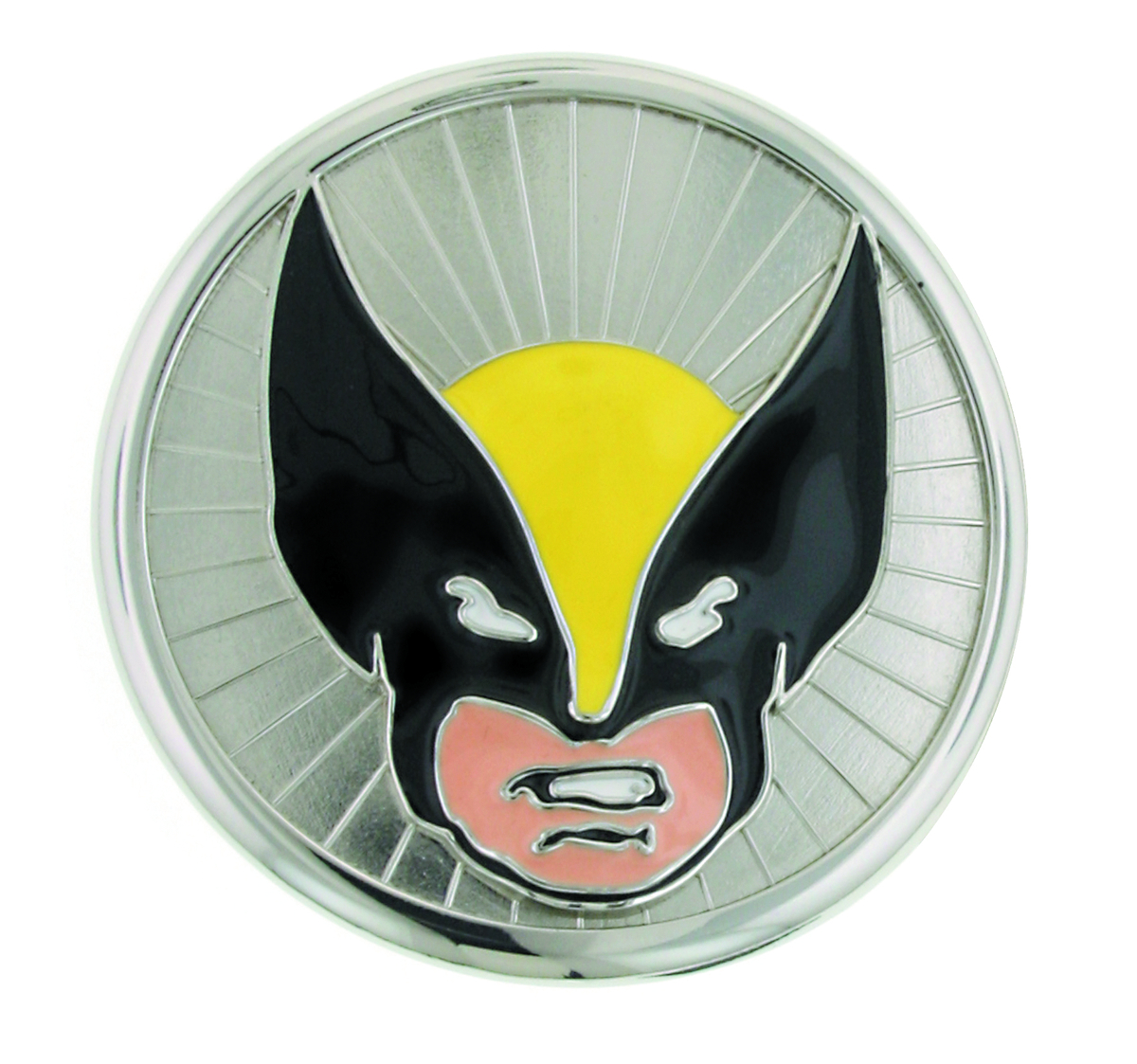 WOLVERINE HEAD BELT BUCKLE