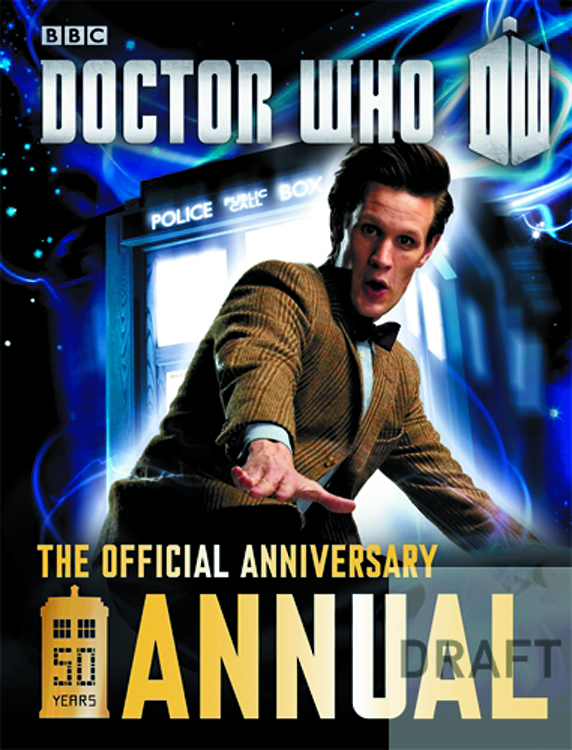 DOCTOR WHO: OFFICIAL 50TH ANNIVERSARY ANNUAL 2014