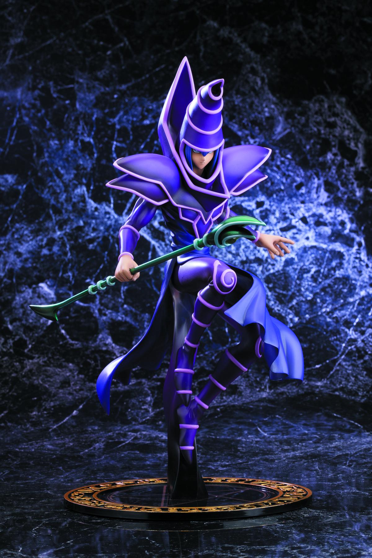 mar132012 yu gi oh dark magician duel w destiny artfx j statue