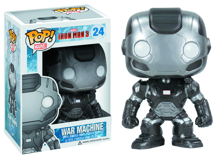 POP IRON MAN 3 WAR MACHINE VINYL FIG