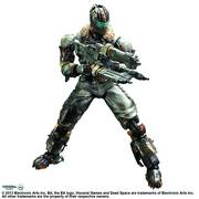 DEAD SPACE 3 PLAY ARTS KAI ISAAC CLARKE AF