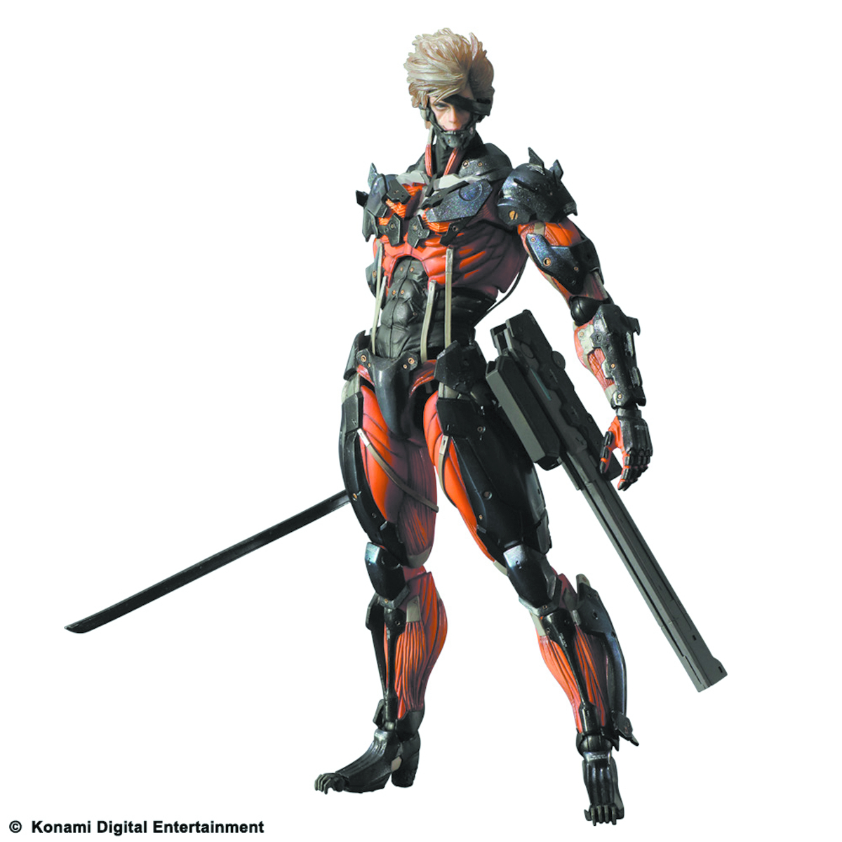 MGR REVENGEANCE PLAY ARTS KAI RAIDEN PX AF RED VER