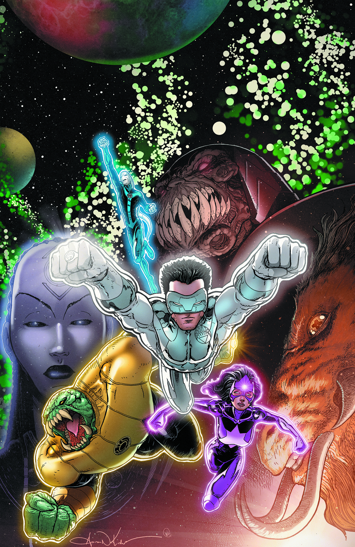 GREEN LANTERN NEW GUARDIANS #20