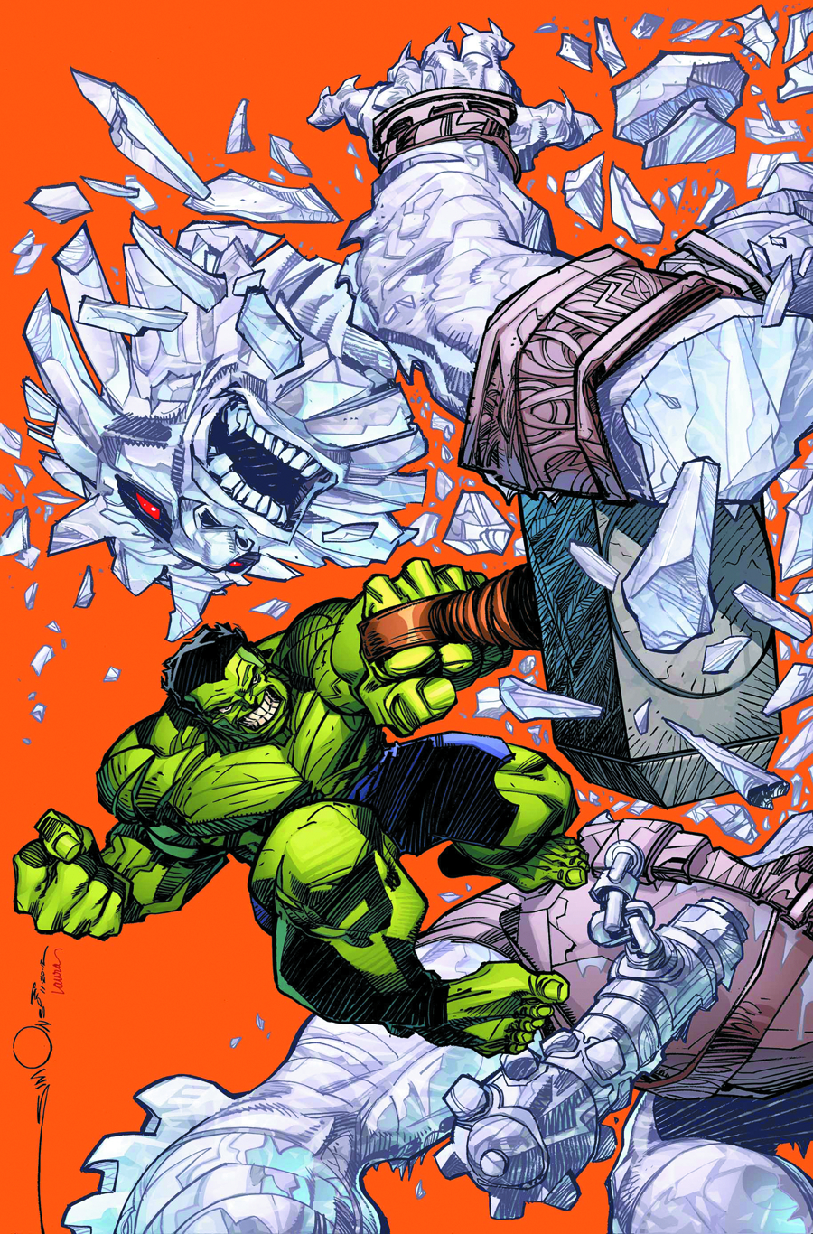 INDESTRUCTIBLE HULK #7 NOW