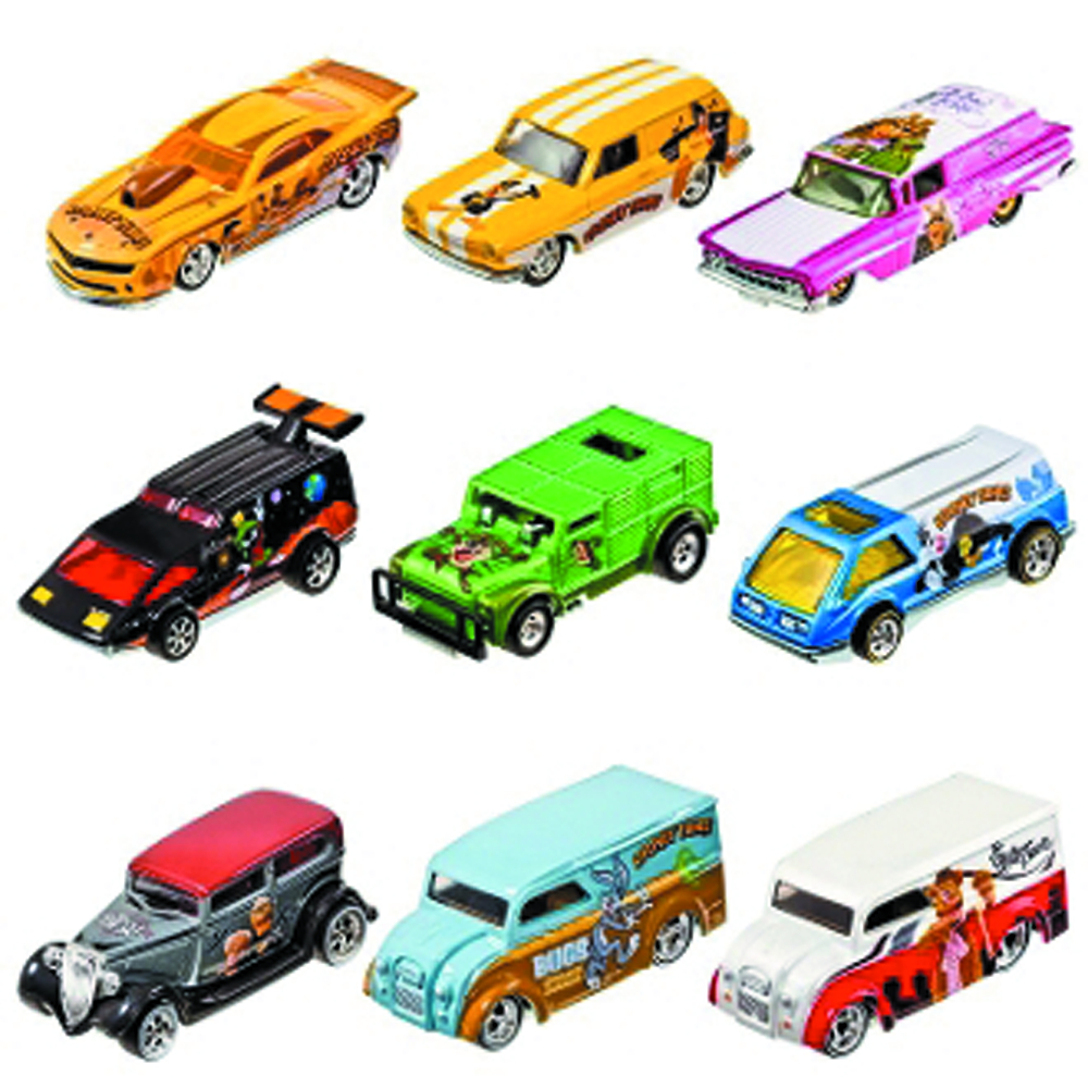 HW ENTERTAINMENT CHARACTER CAR DIE-CAST ASST