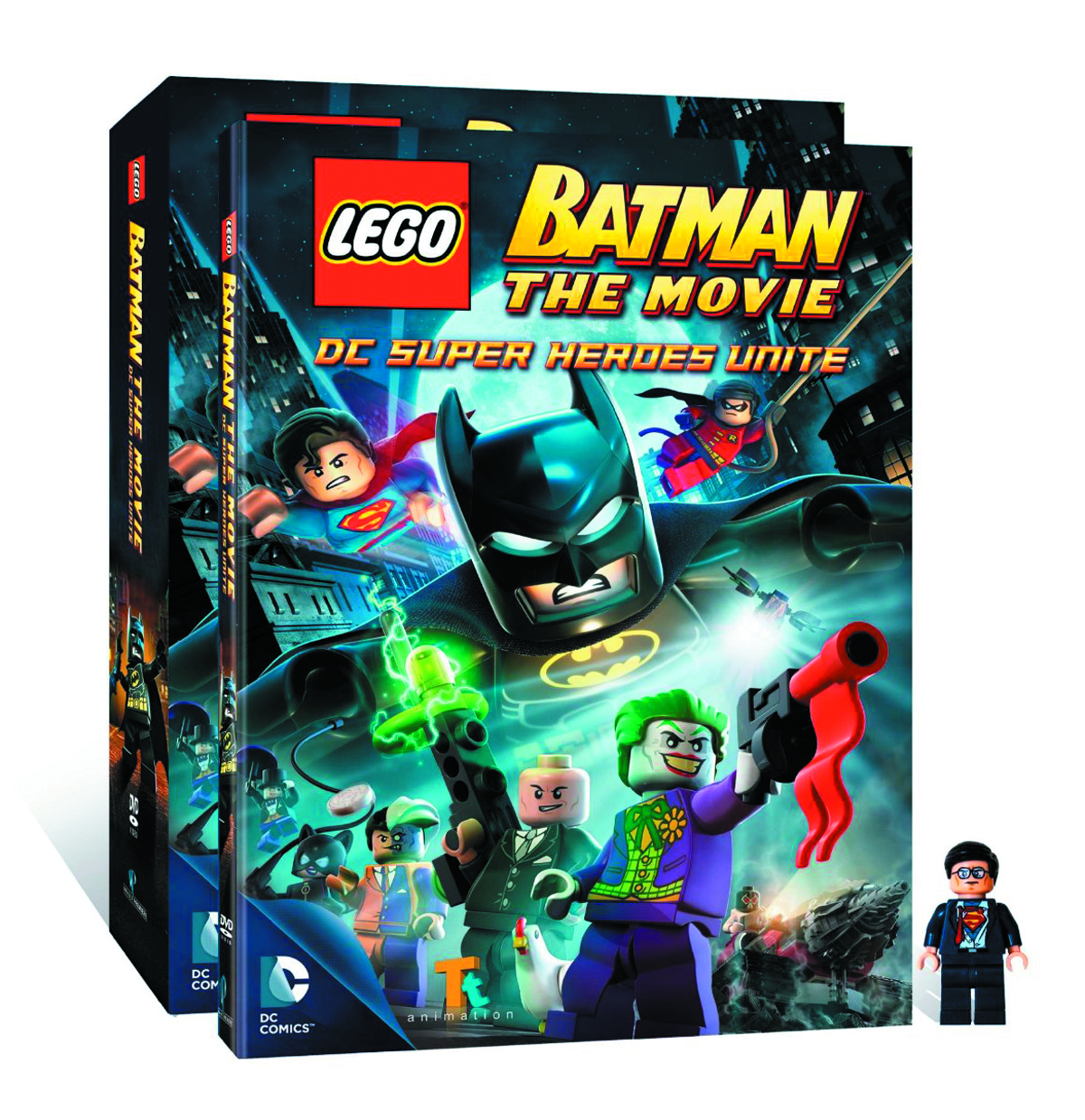 LEGO BATMAN THE MOVIE DVD + MINIFIG