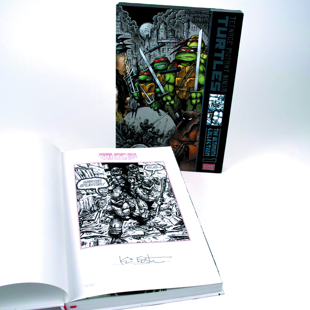 TMNT ULT COLL HC VOL 01 RED LABEL ED