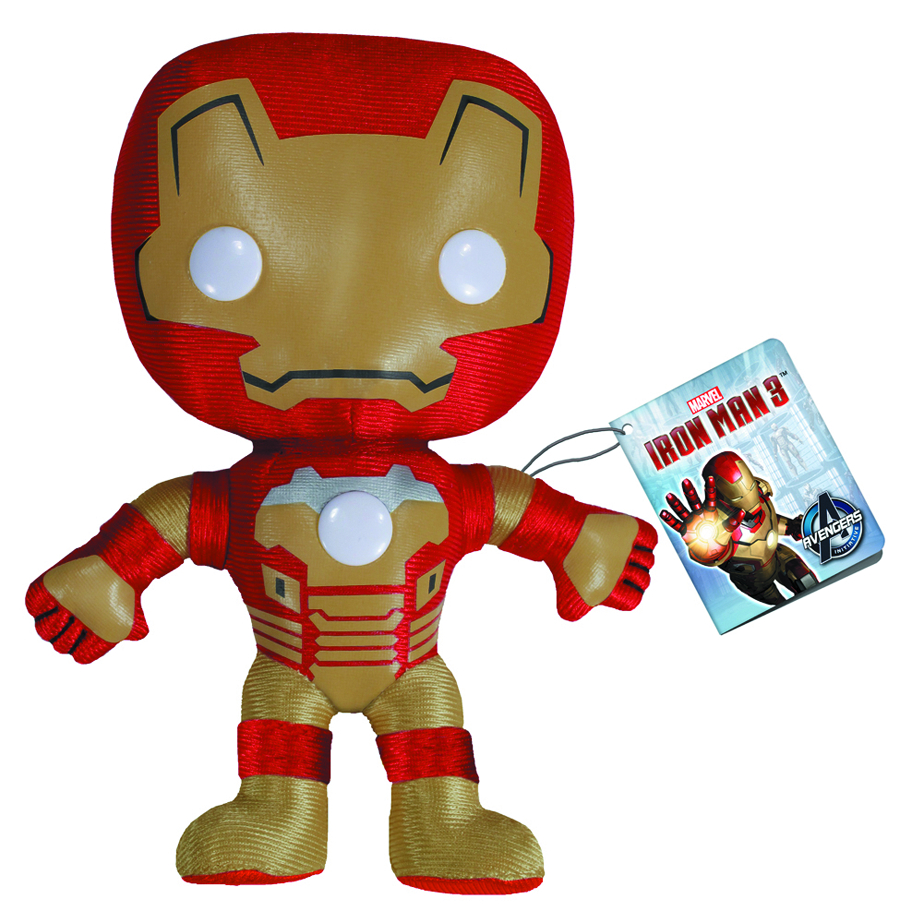 IRON MAN 3 IRON MAN 7 INCH PLUSH