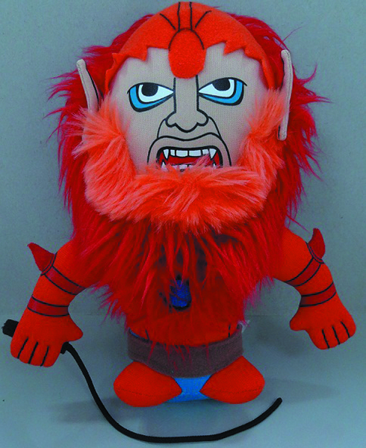 MOTU BEAST MAN SUPER DEFORMED PLUSH