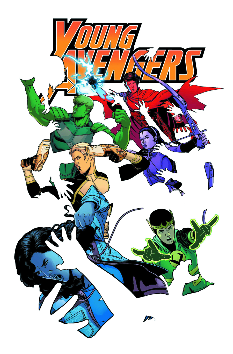 YOUNG AVENGERS #5 NOW