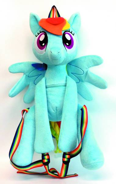 MLP RAINBOW DASH PLUSH BACKPACK