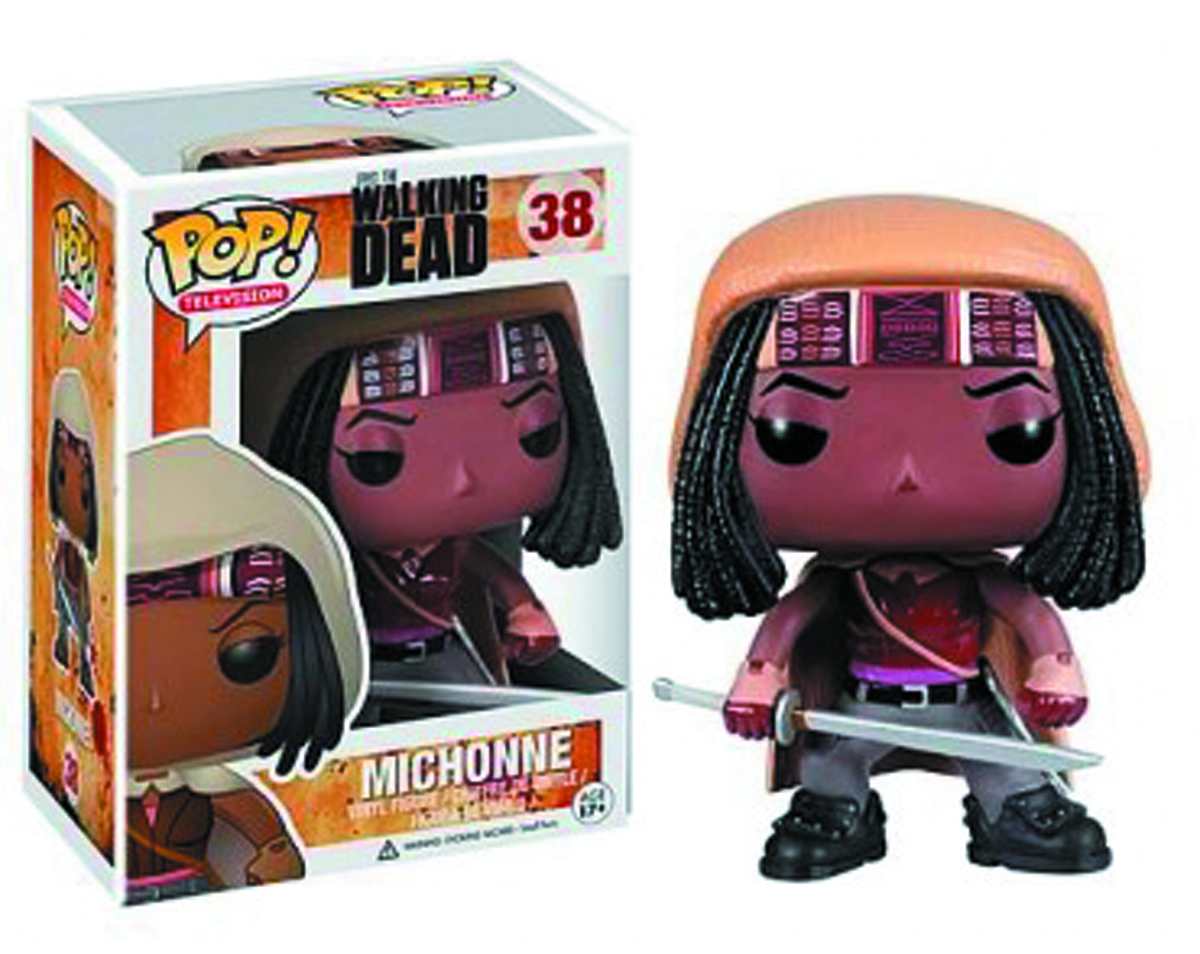 POP WALKING DEAD SER 2 MICHONNE VINYL FIG