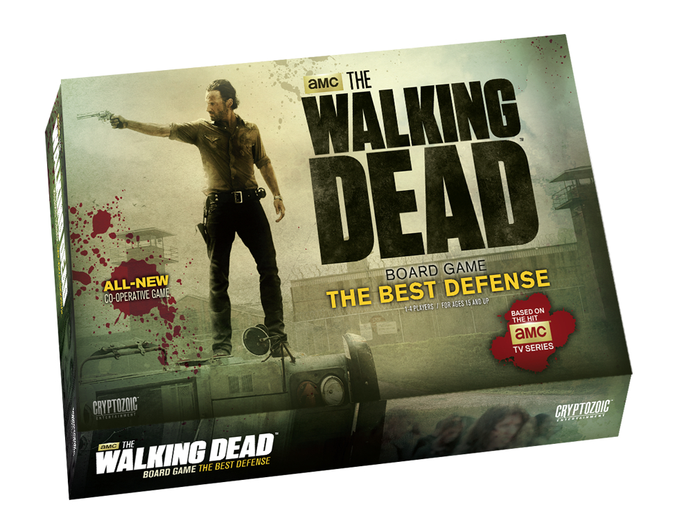 WALKING DEAD TV BOARD GAME THE BEST DEFENSE