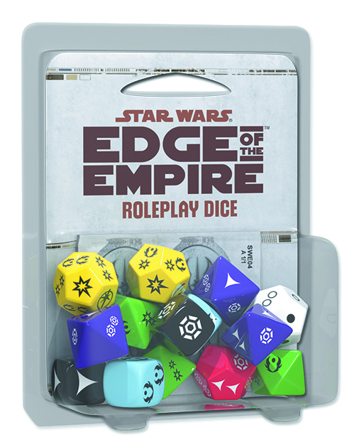 STAR WARS RPG EDGE OF THE EMPIRE ROLEPLAY DICE