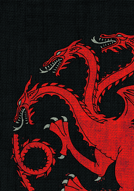 GAME OF THRONES HBO HOUSE TARGARYEN ART SLEEVES PK