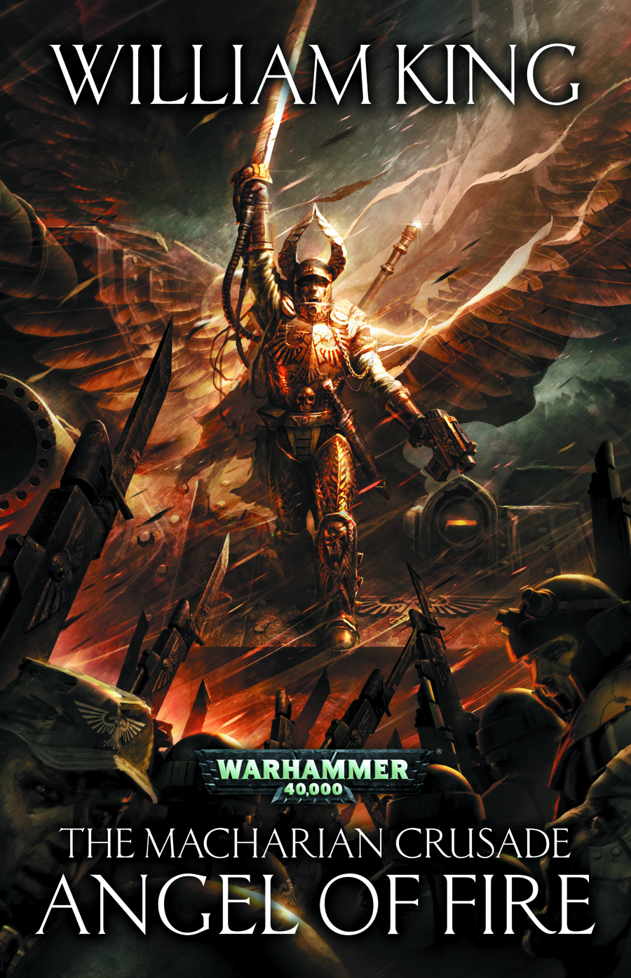 WARHAMMER 40K MACHARIAN CRUSADE ANGEL OF FIRE SC