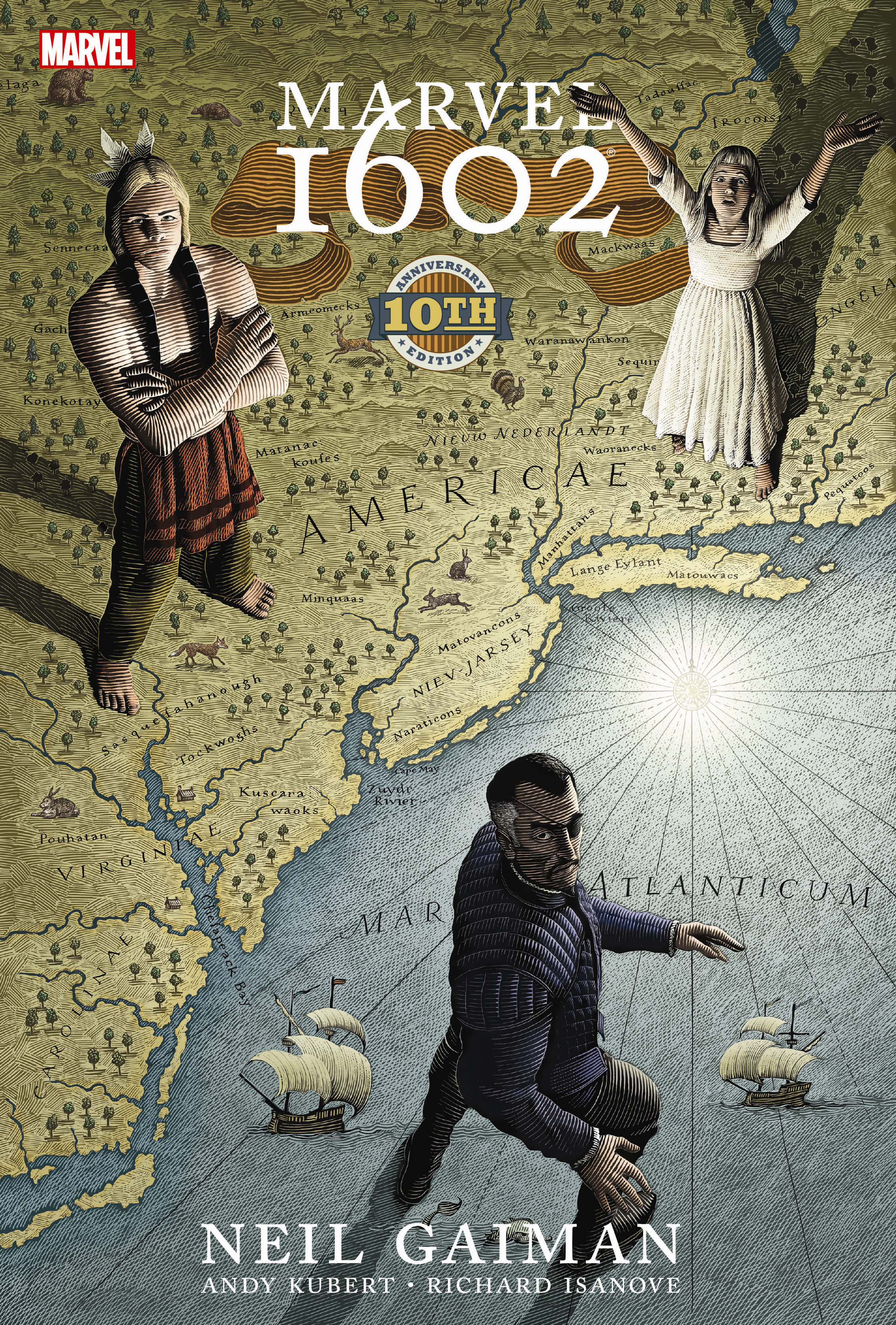 MARVEL 1602 HC 10TH ANNIVERSARY EDITION