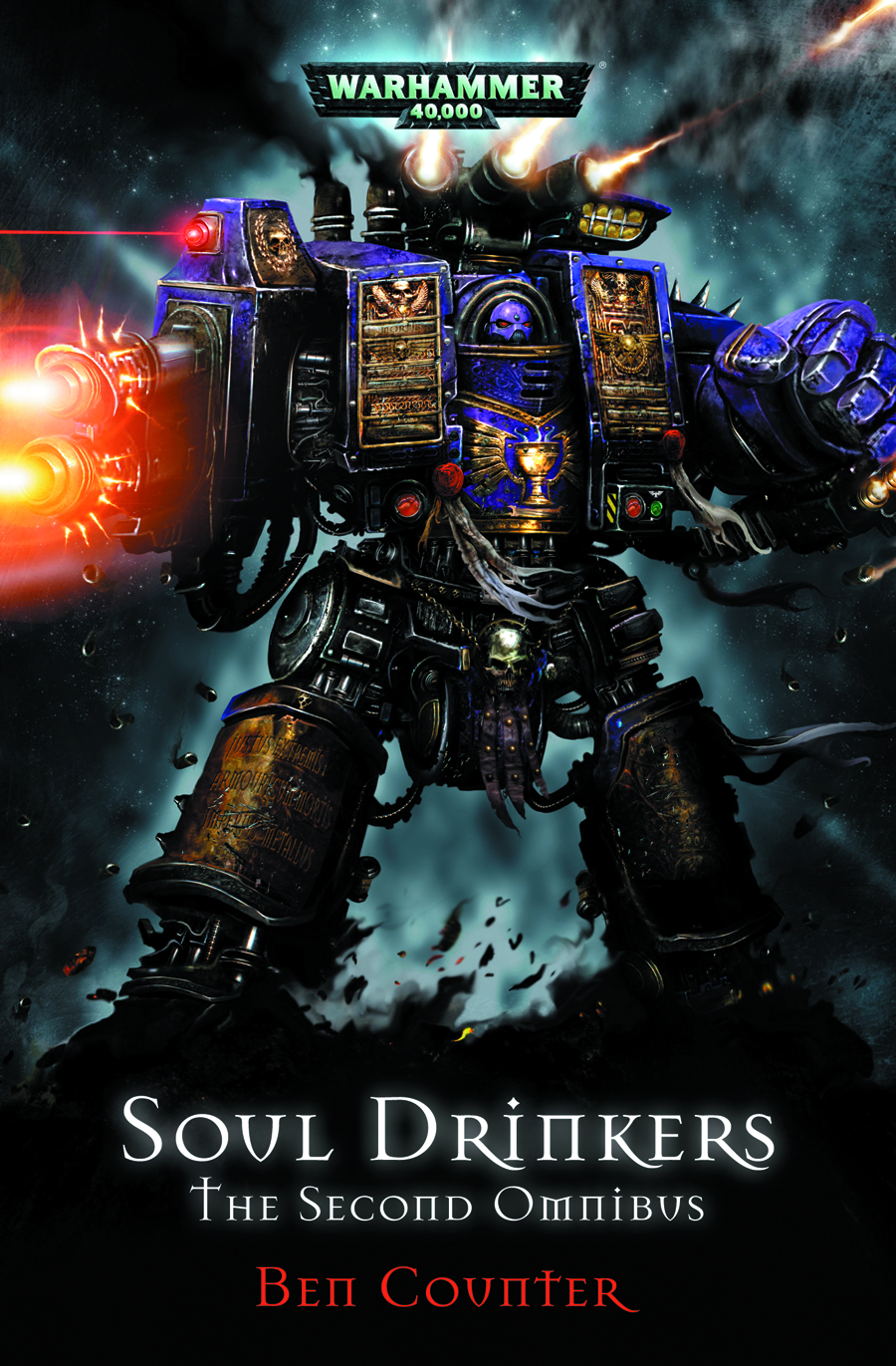 WARHAMMER 40K THE SOUL DRINKERS SECOND OMNIBUS SC