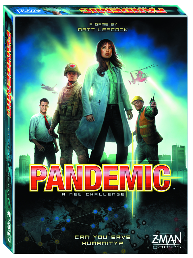 PANDEMIC BOARD GAME NEW EDITION