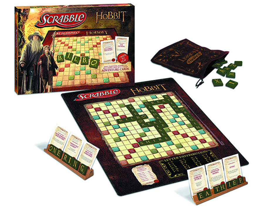 HOBBIT AN UNEXPECTED JOURNEY SCRABBLE