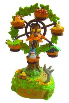 MY NEIGHBOR TOTORO FERRIS WHEEL MUSIC BOX