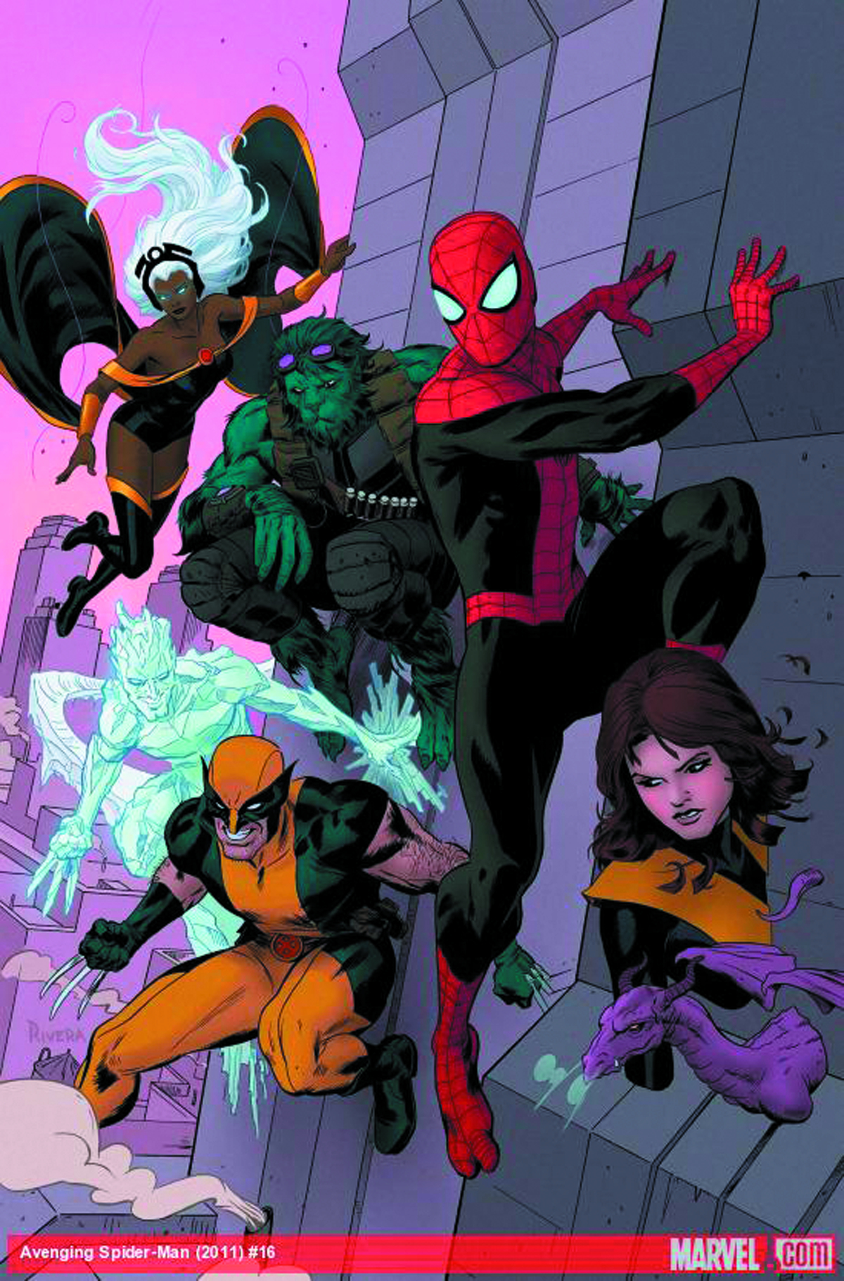 AVENGING SPIDER-MAN #16 2ND PTG RIVERA VAR