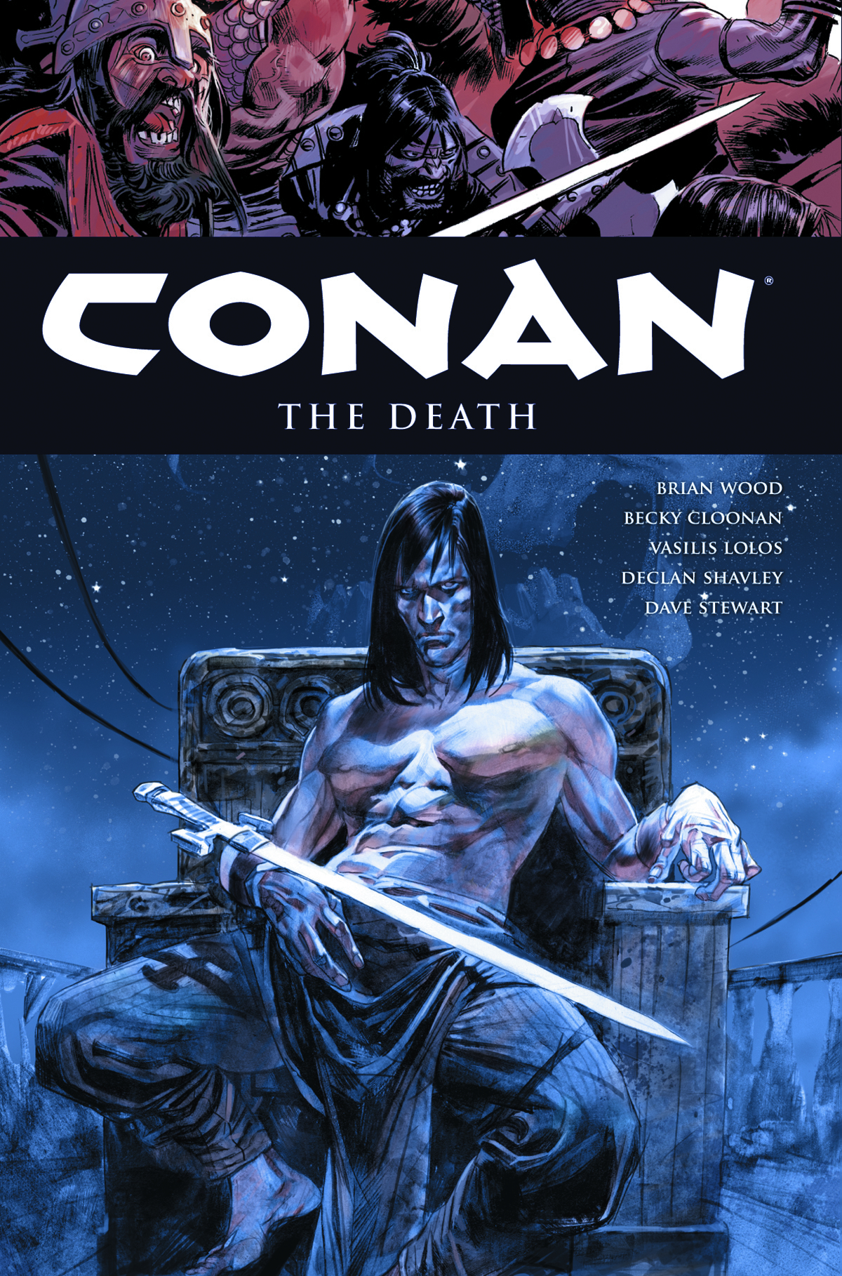 CONAN HC VOL 14 THE DEATH