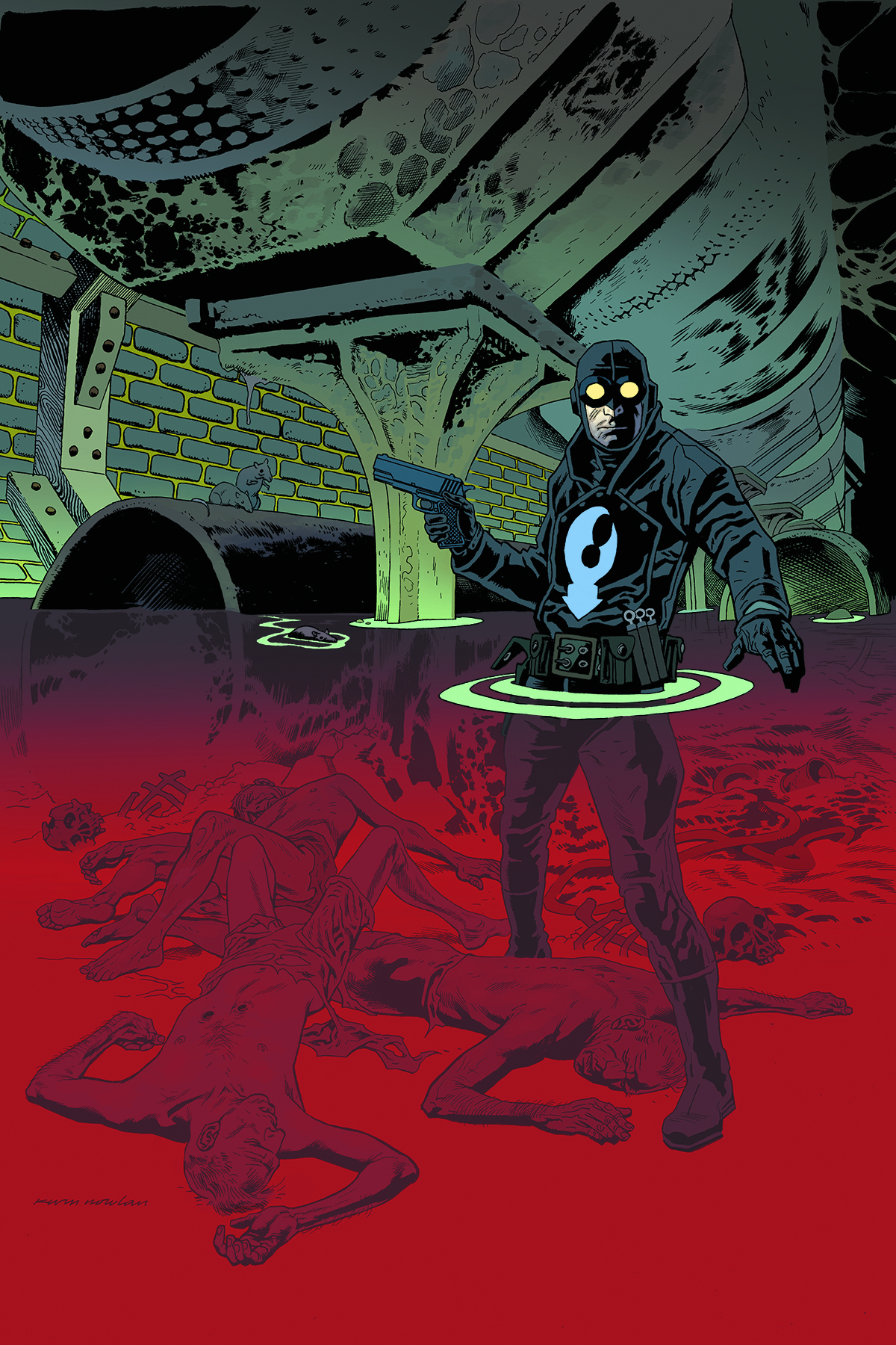 LOBSTER JOHNSON SATAN SMELLS A RAT ONE SHOT