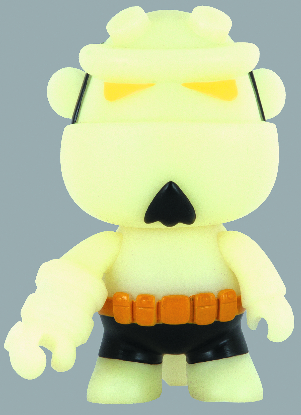 HELLBOY 5 INCH MINI QEE GLOW IN DARK