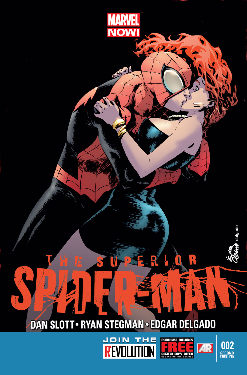 SUPERIOR SPIDER-MAN #2 2ND PTG STEGMAN VAR NOW