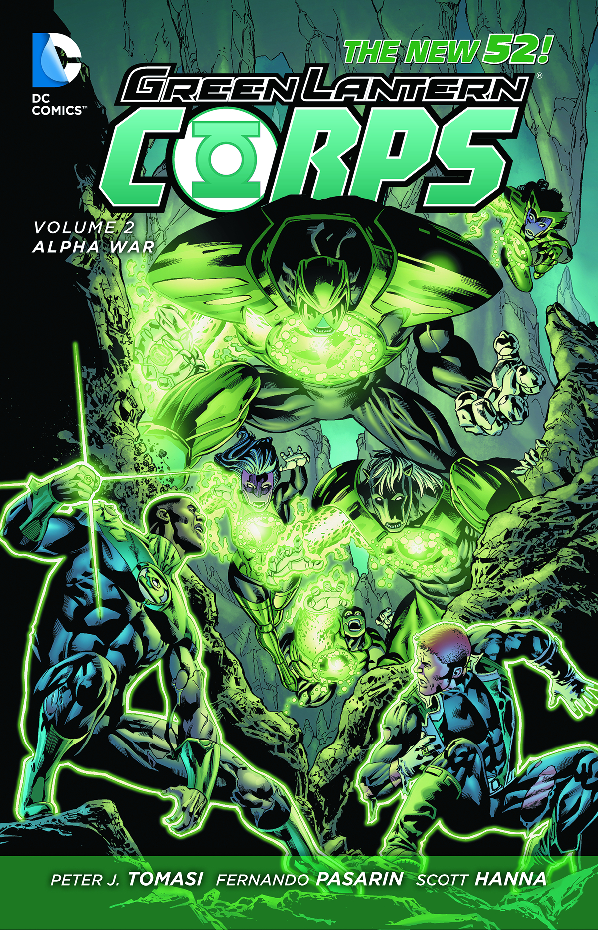 GREEN LANTERN CORPS HC VOL 02 ALPHA WAR
