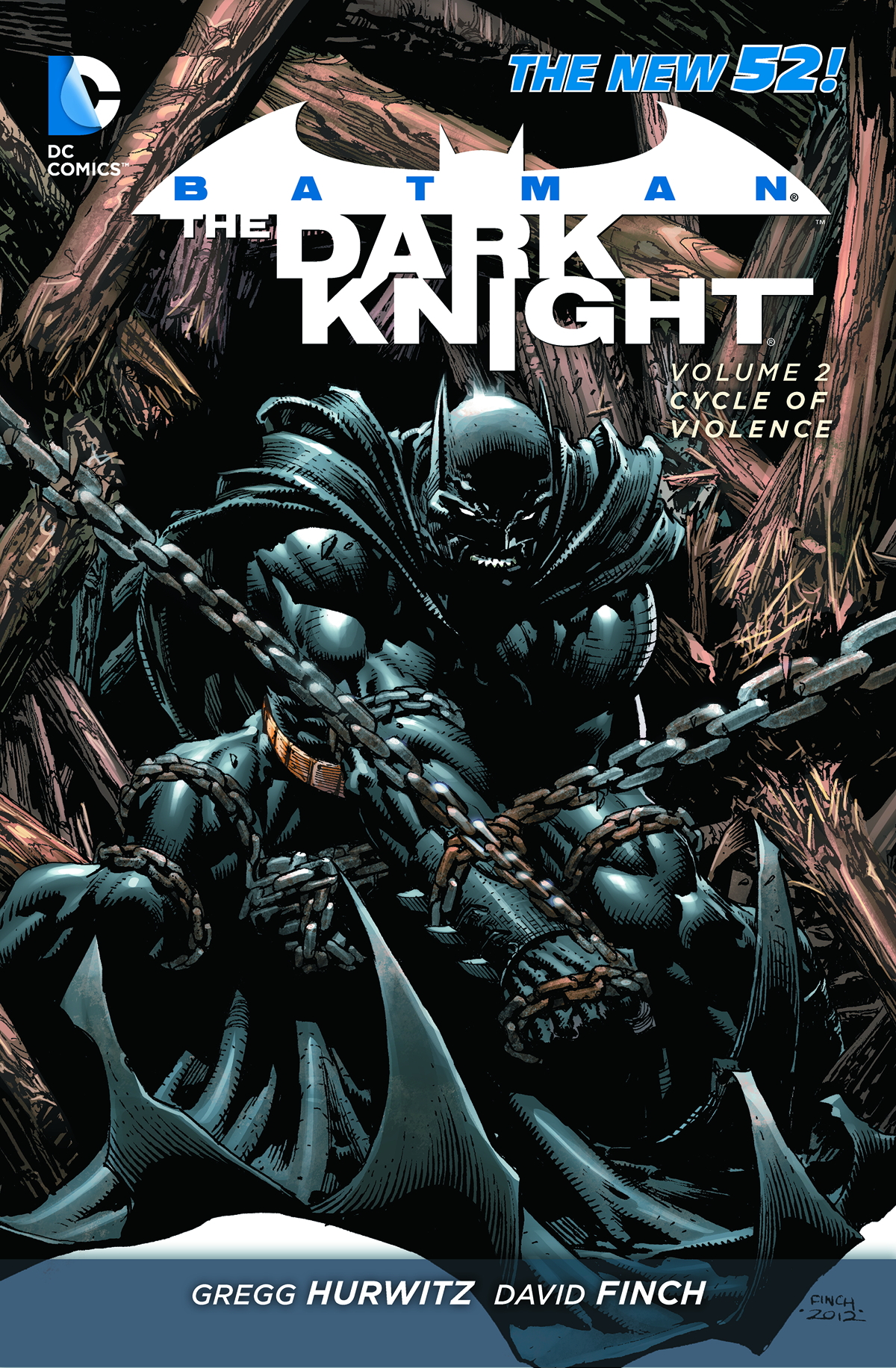 BATMAN DARK KNIGHT HC VOL 02 CYCLE OF VIOLENCE
