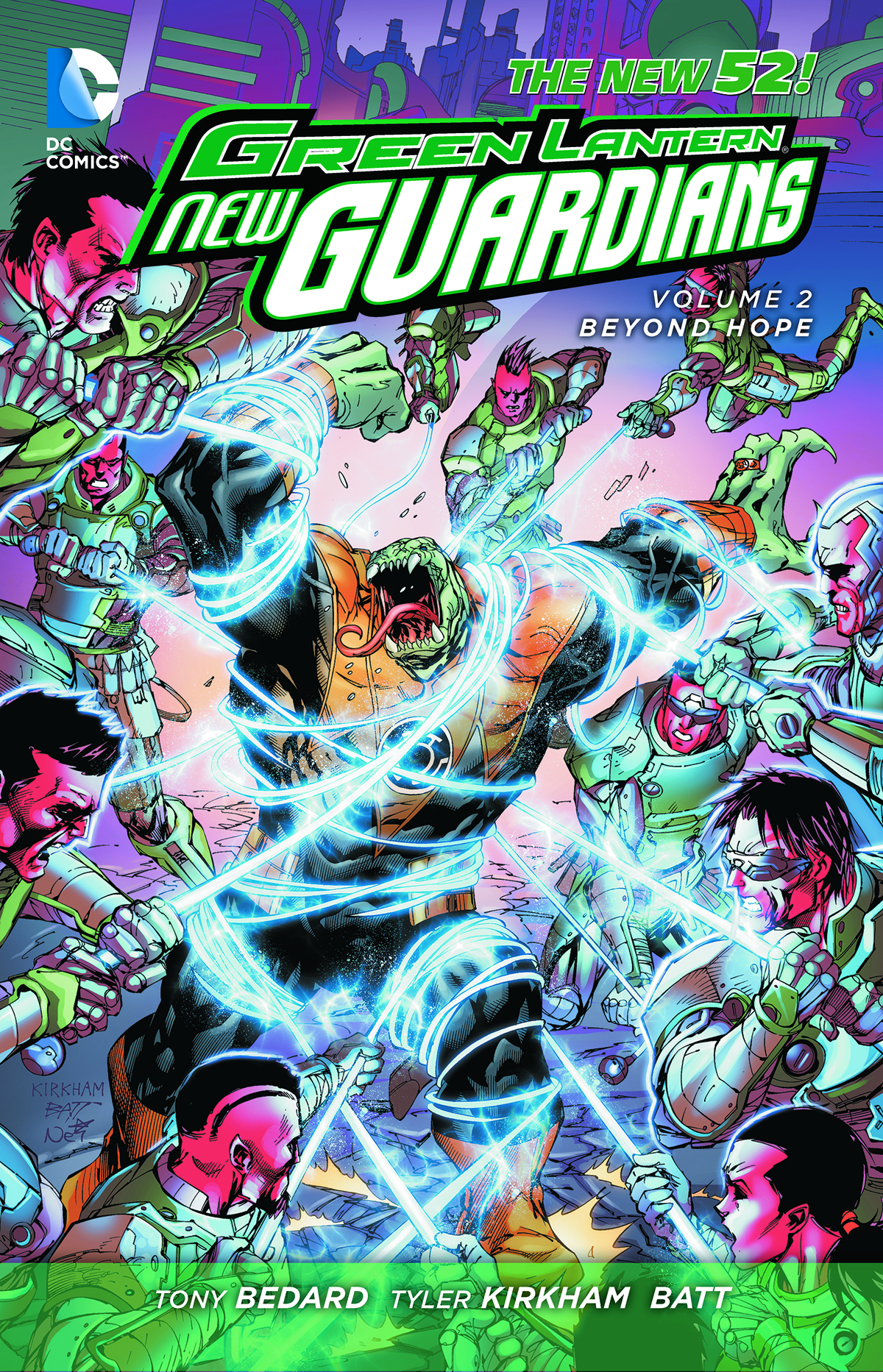 GREEN LANTERN NEW GUARDIANS HC VOL 02 BEYOND HOPE