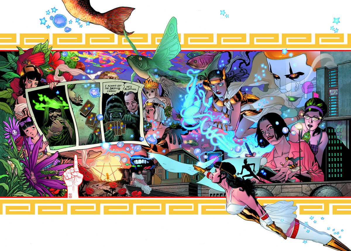 PROMETHEA THE IMMATERIA ED HC