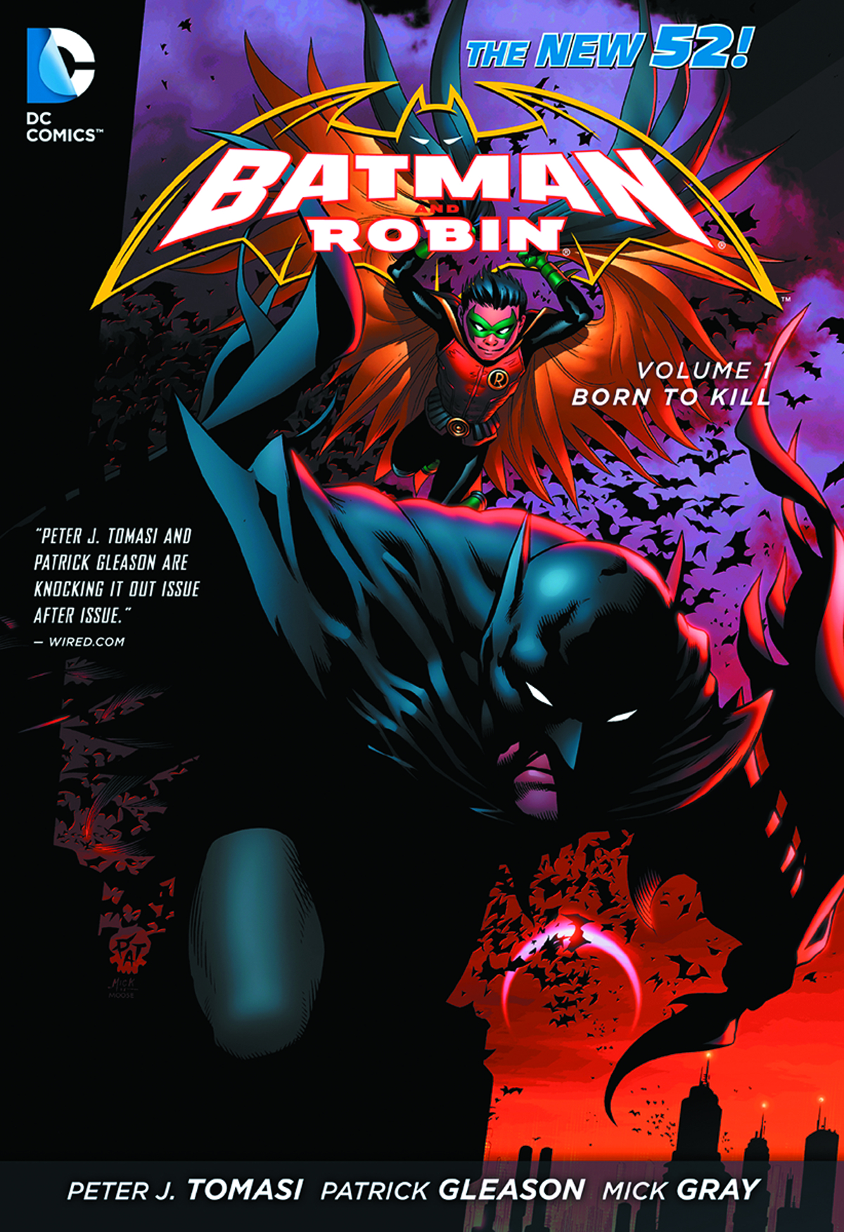 BATMAN & ROBIN TP VOL 01 BORN TO KILL