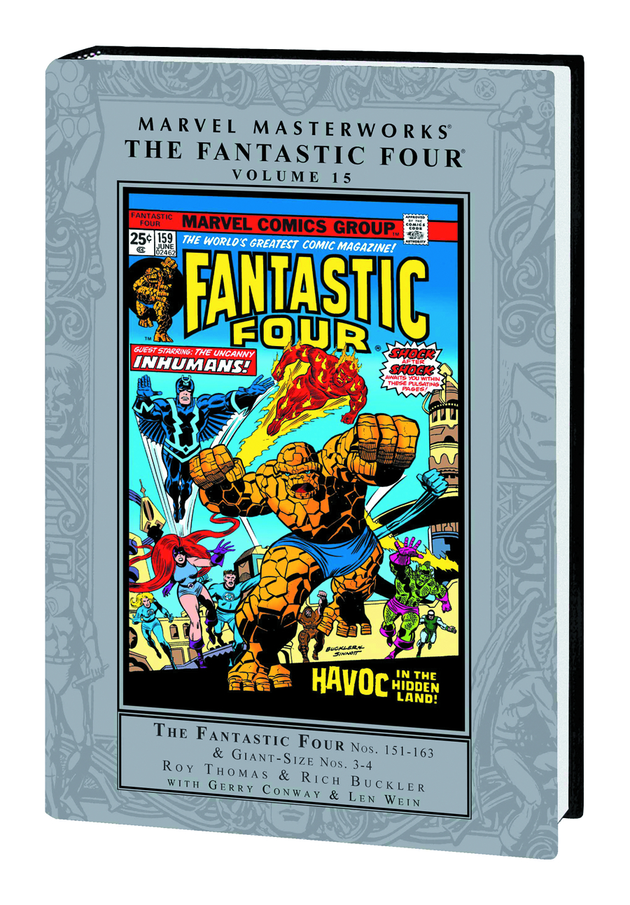 MMW FANTASTIC FOUR HC VOL 15