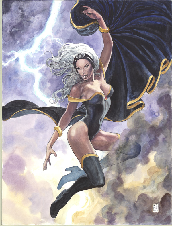 STORM BY MANARA POSTER