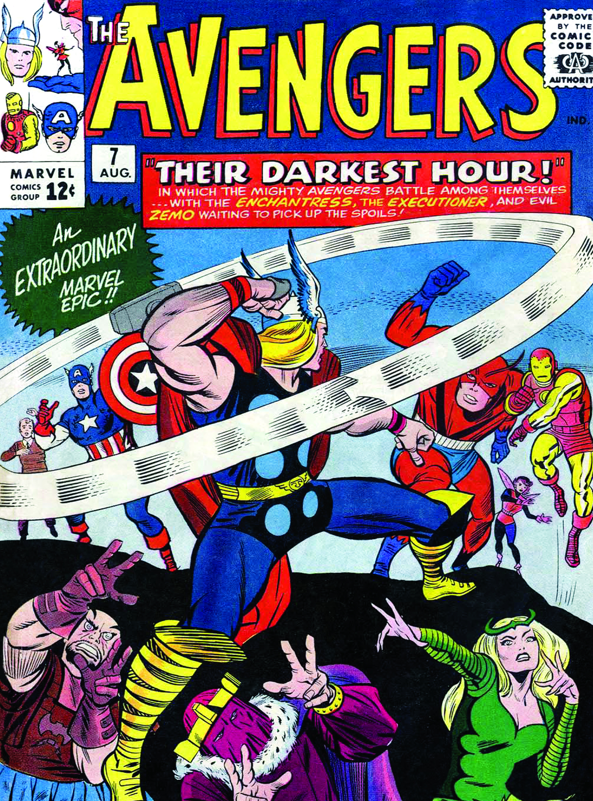 VINTAGE MARVEL COMICS 2014 12 MONTH WALL CALENDAR