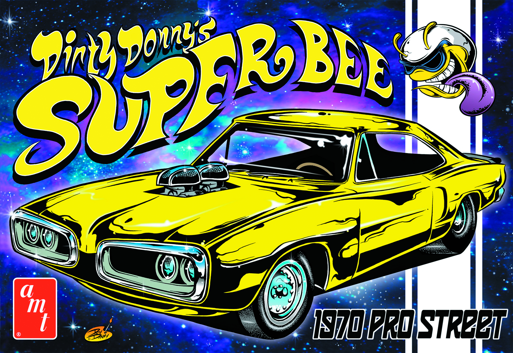 AMT DIRTY DONNY SUPER BEE 1/25 MODEL KIT