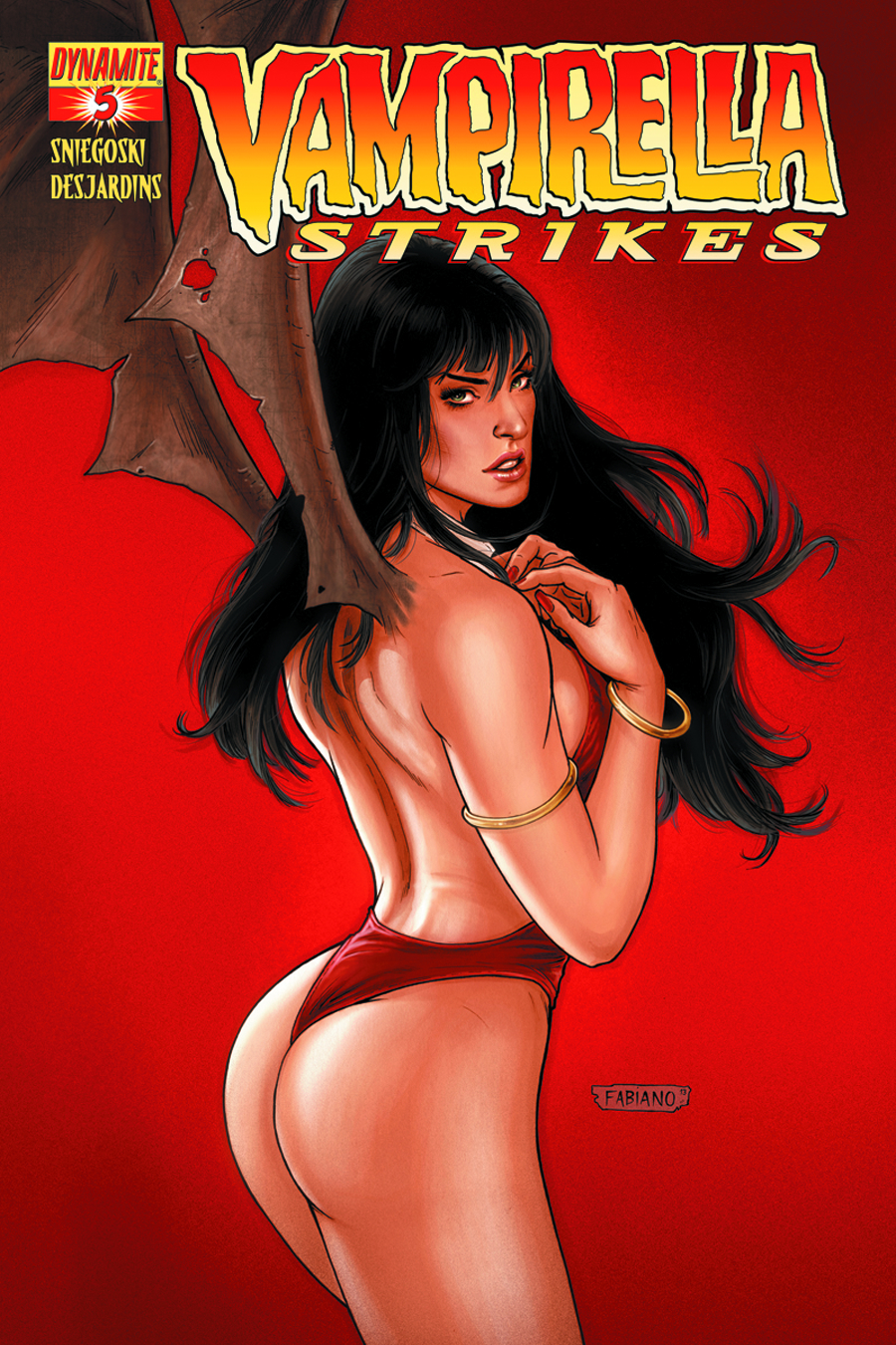 VAMPIRELLA STRIKES #5 CVR B NEVES