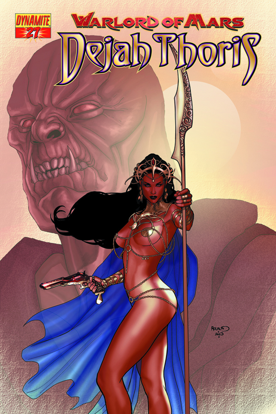 WARLORD OF MARS DEJAH THORIS #27