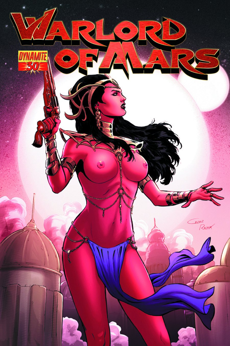WARLORD OF MARS #30 25 COPY RAZEK RISQUE INCV