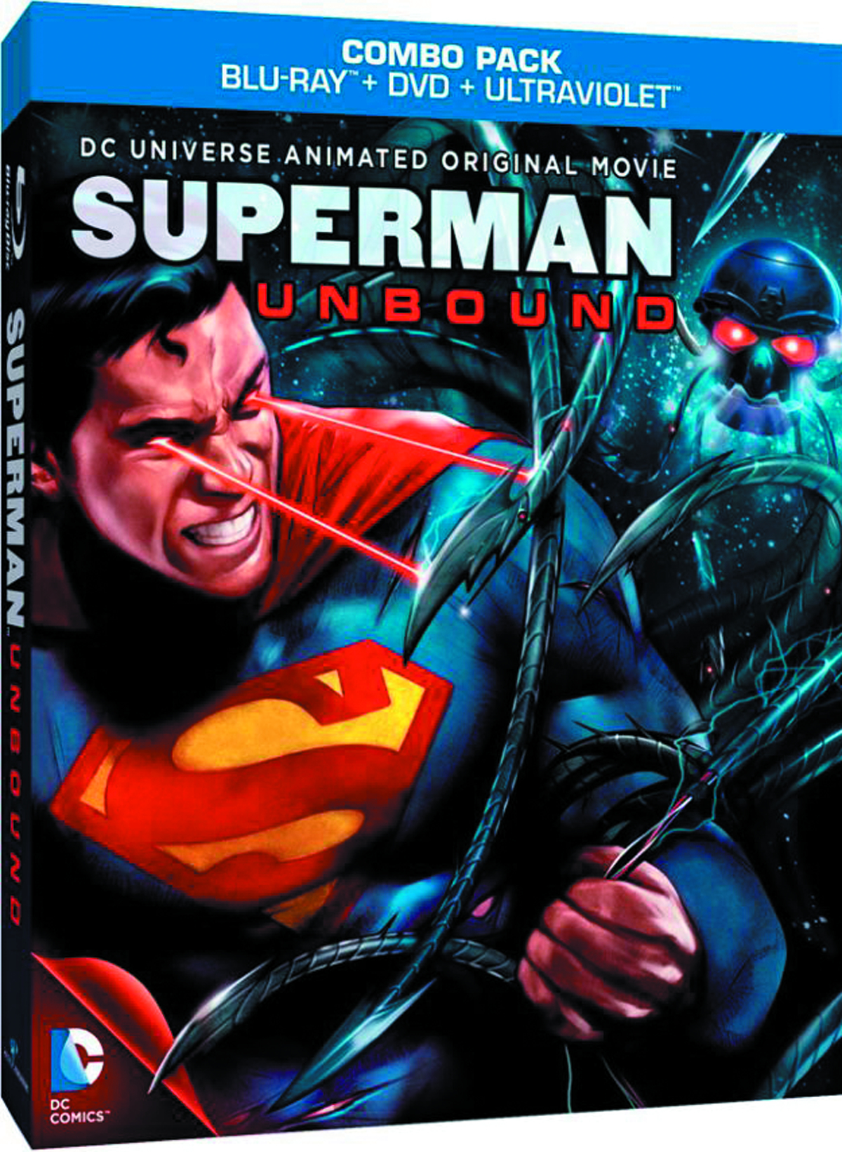 DCU SUPERMAN UNBOUND BD + DVD