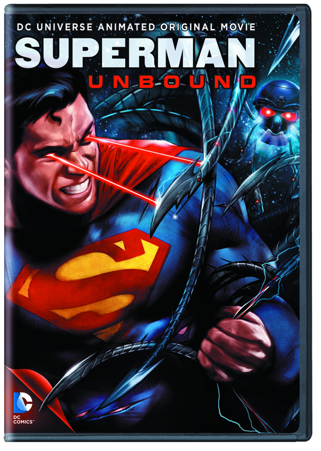 DCU SUPERMAN UNBOUND DVD