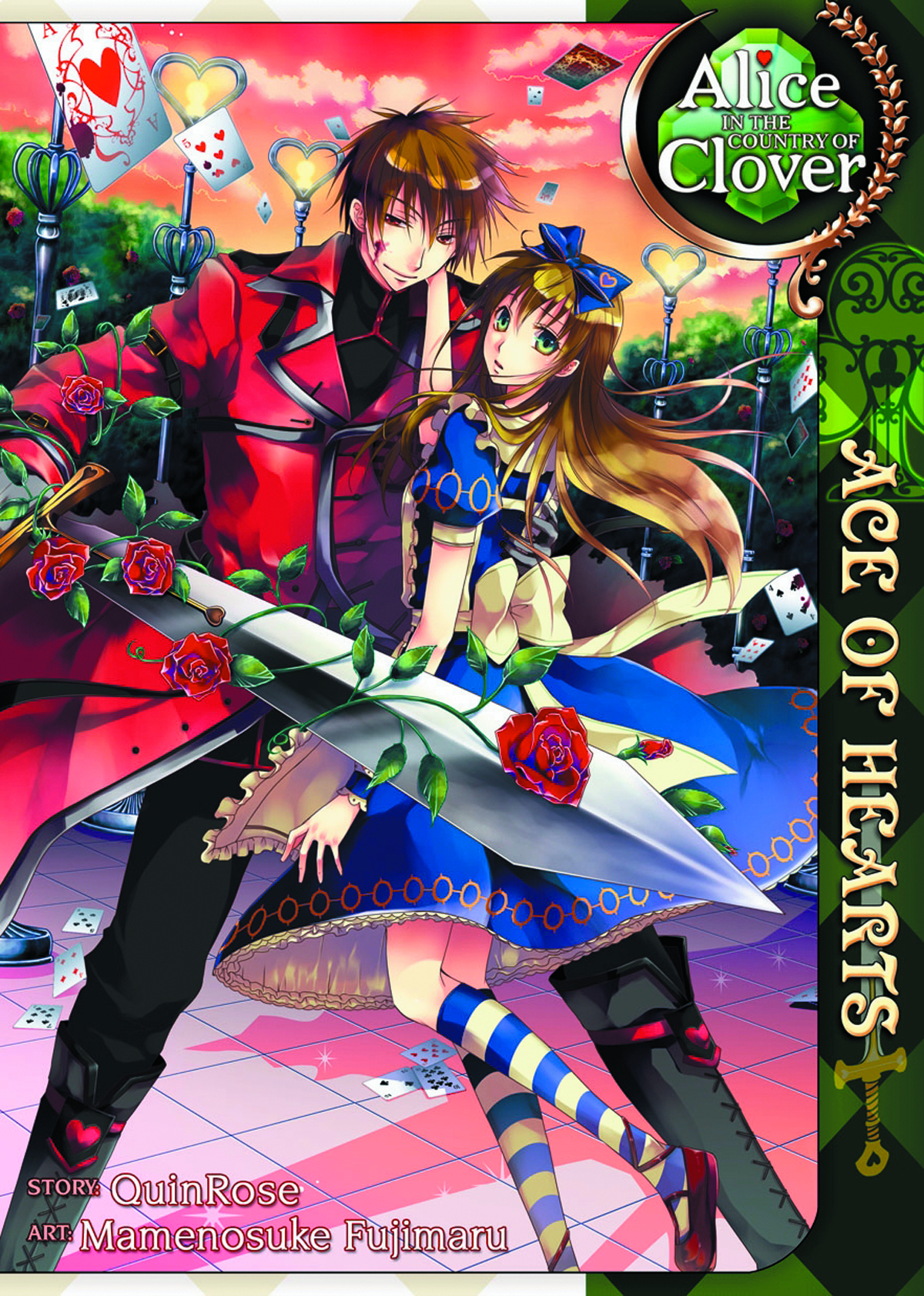 ALICE I/T COUNTRY OF CLOVER ACE OF HEARTS GN VOL 01