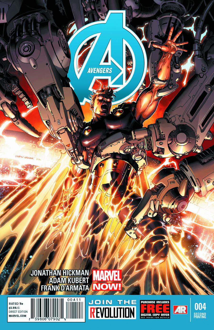 AVENGERS #4 2ND PTG KUBERT VAR NOW2