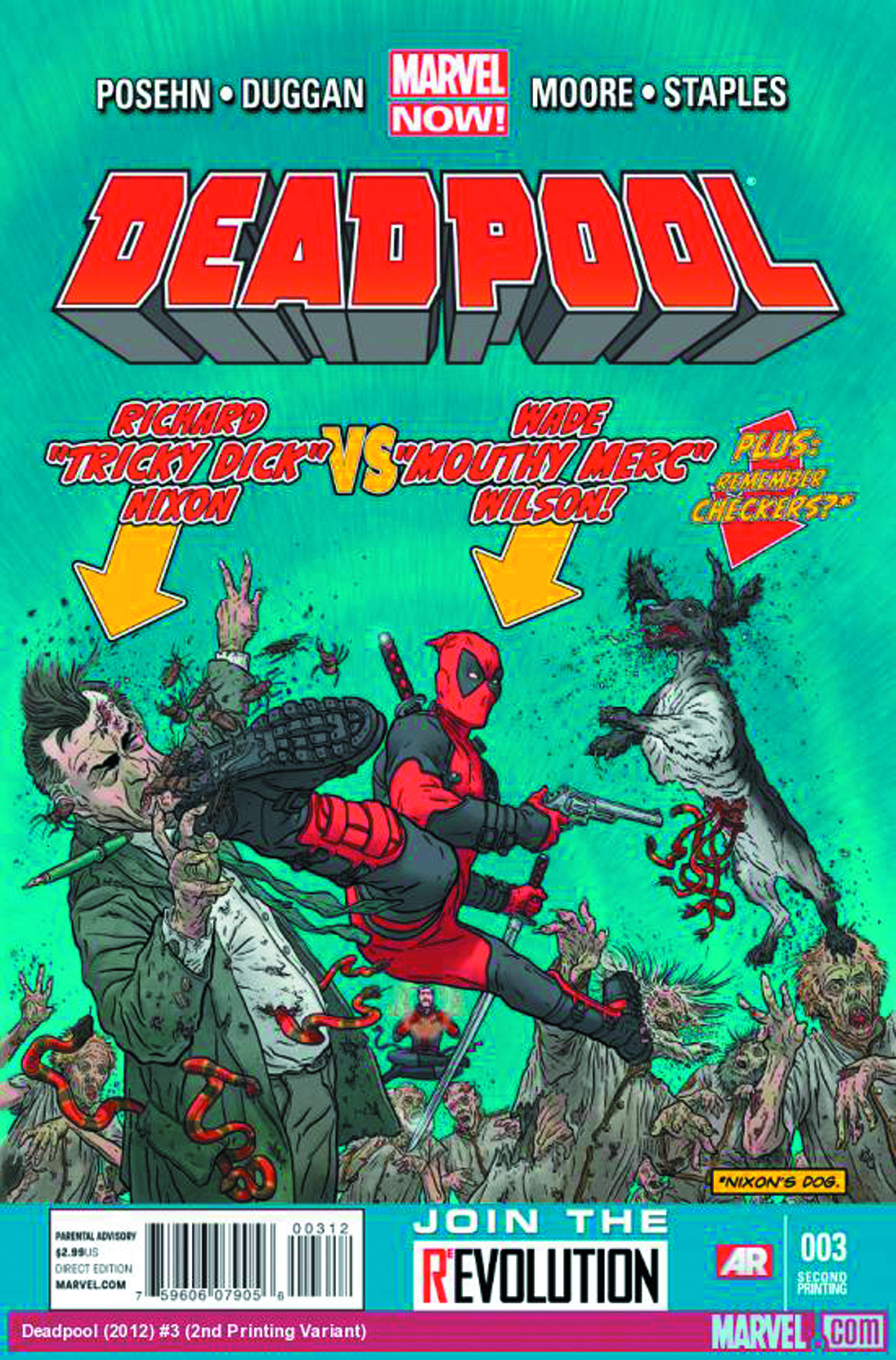 DEADPOOL #3 3RD PTG DARROW VAR NOW