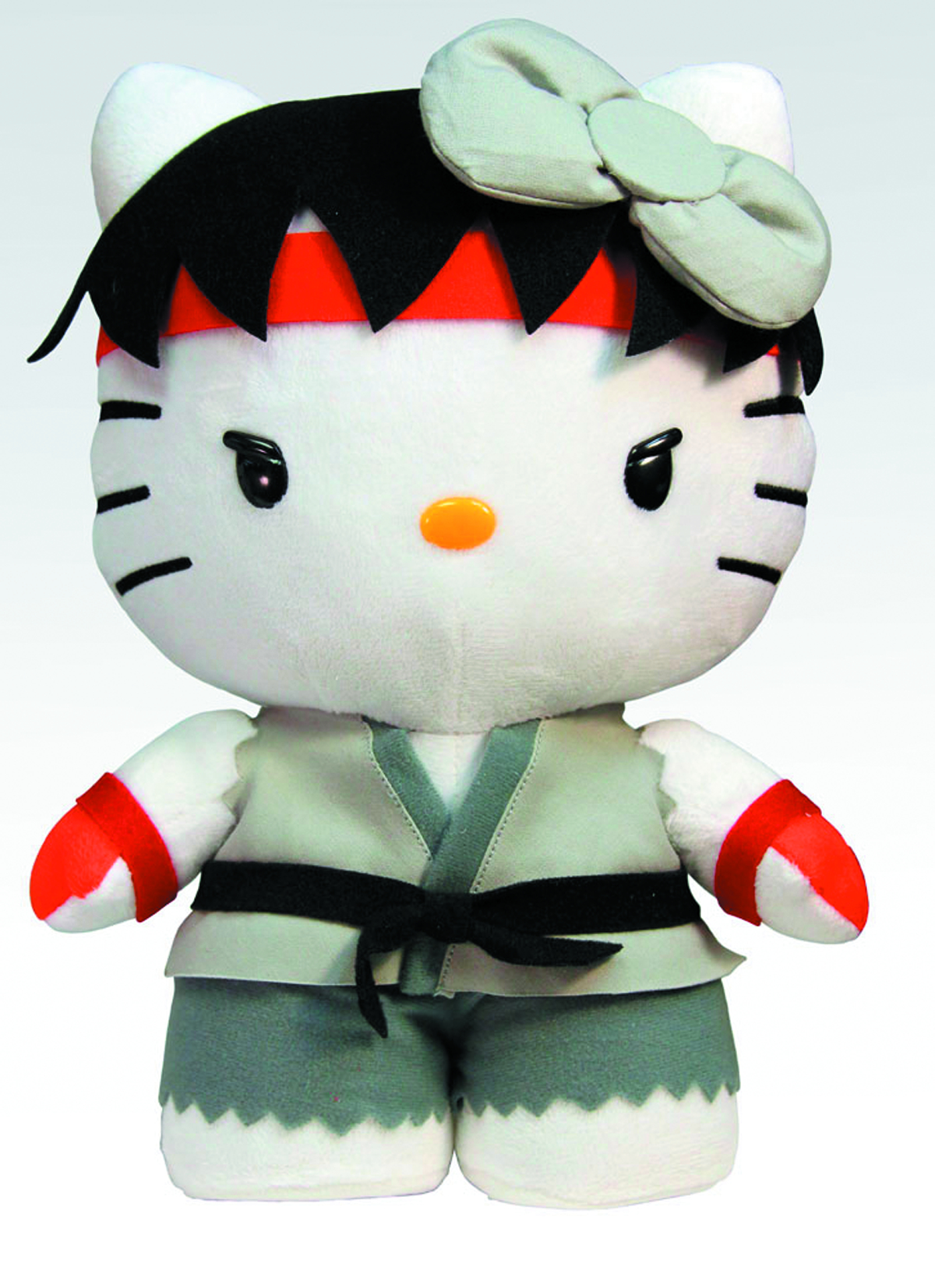 SANRIO X STREET FIGHTER RYU 10-IN PLUSH