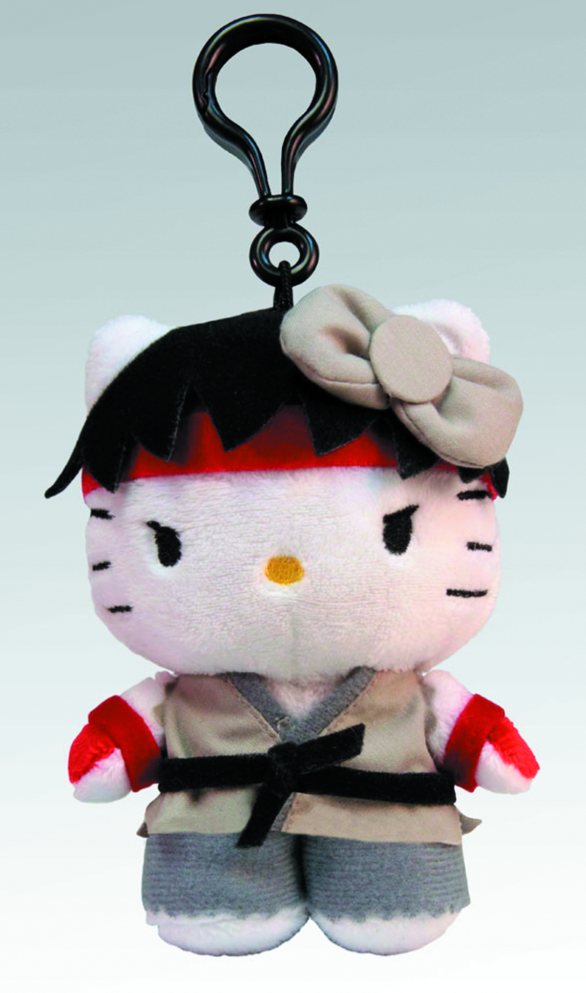 SANRIO X STREET FIGHTER RYU 4-IN CLIP-ON COIN PURSE